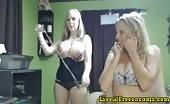 Britneyathome And BriannaRay Hot MILF Cam Show