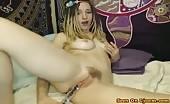 Dabbielala Sexy Hippie Girl Fucking Her Pussy